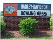 Harley Davidson - Bowling Green, Kentucky. click to enlarge.